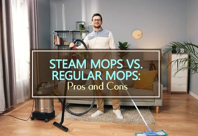 steam mops vs regular mops